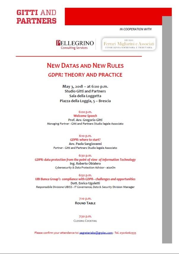 Seminario GDPR 03052018